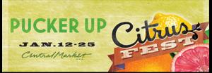 Central Market Citrus Fest Banner