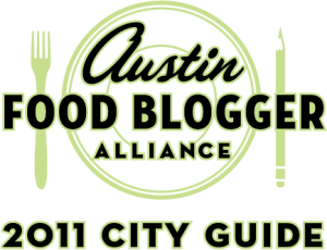 Austin Food Blogger Alliance City Guide Logo