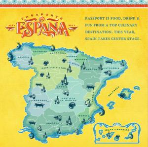 Central Market's Passport Spain Banner