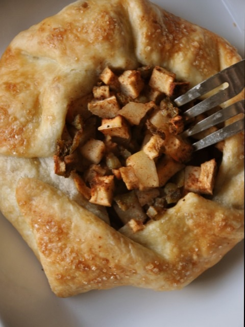 Apple and Hatch Chile Galette
