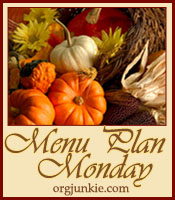 Menu Plan Monday Fall Logo