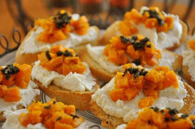 My Take: Butternut Squash, Ricotta, and Sage Crostini | Austin Food ...
