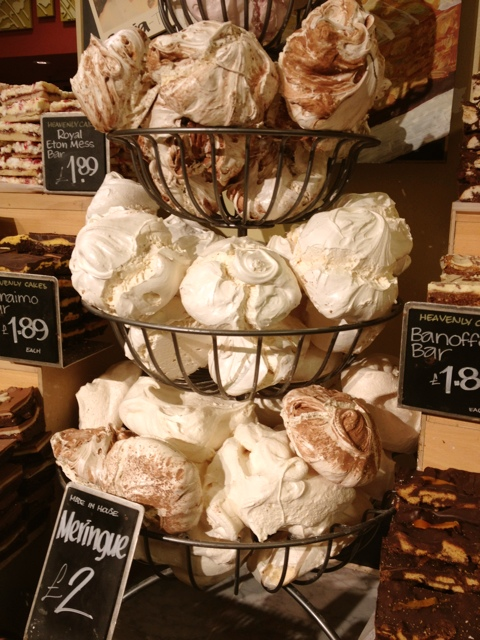 Meringues at Whole Foods Market in London